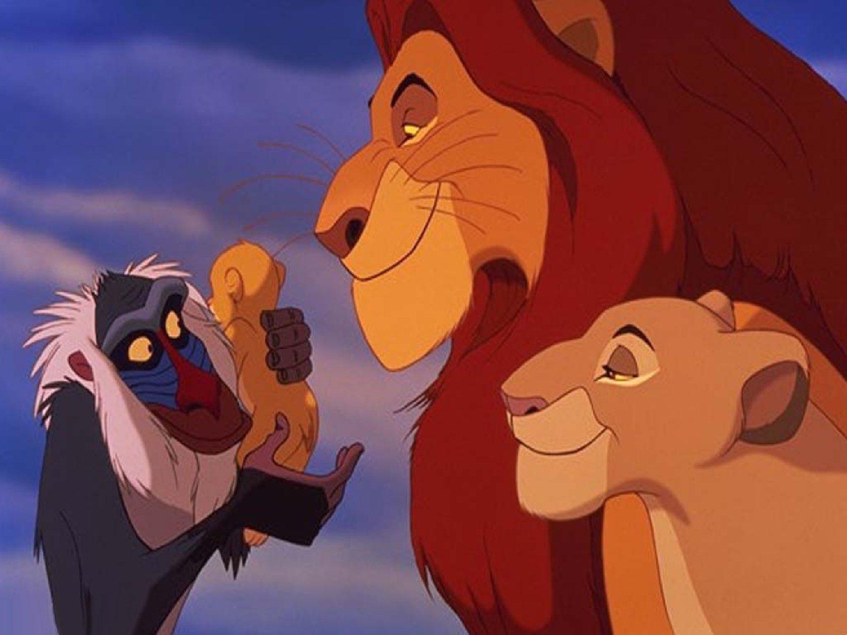 Фото львов из всех мультиков 4