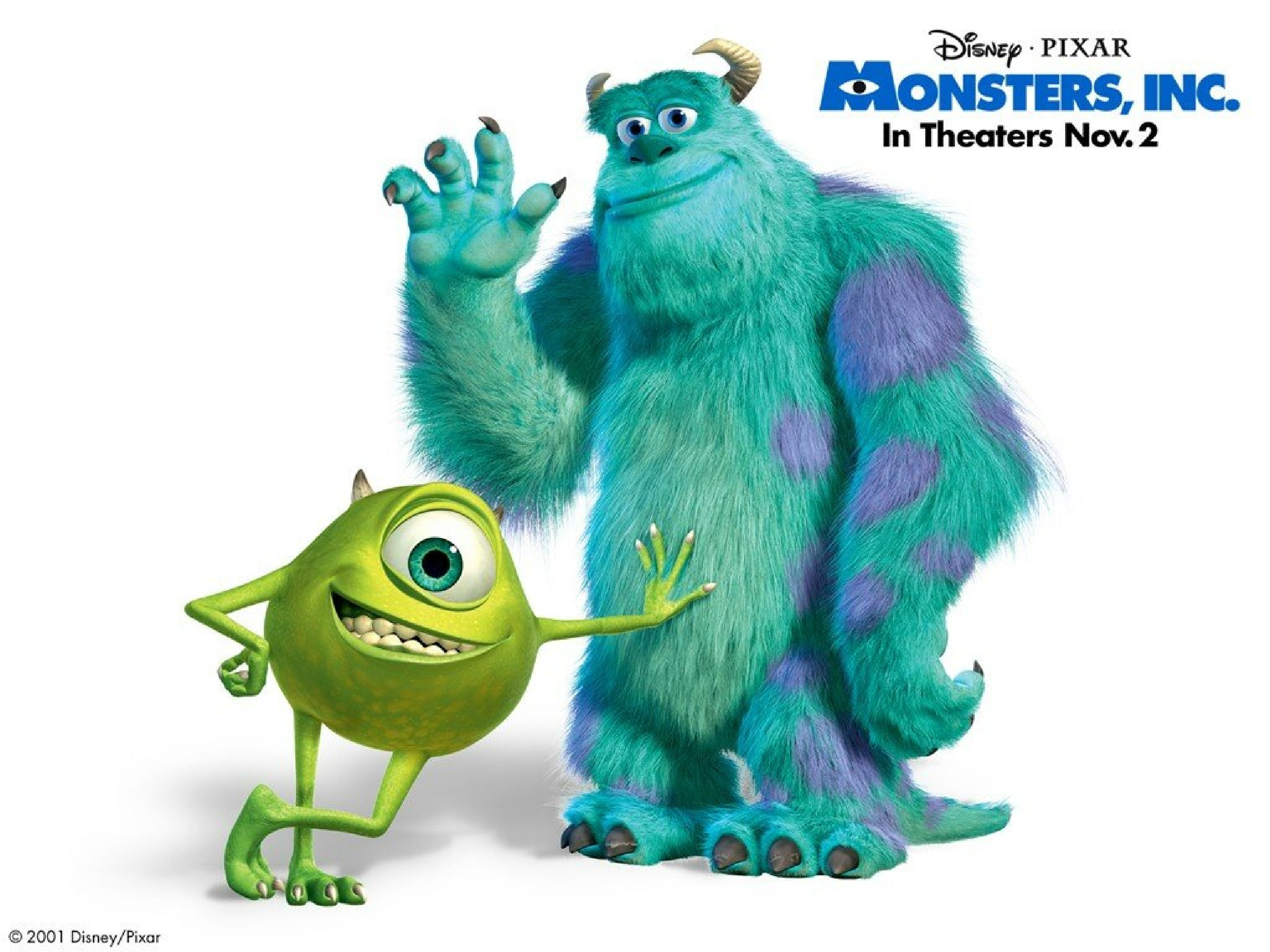 Sully Monsters Inc Coloring Pages.