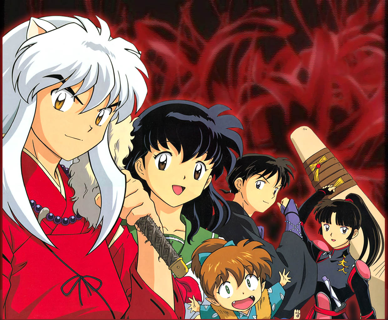 filmitelewizja - manga - inuyasha-group-wallpaper