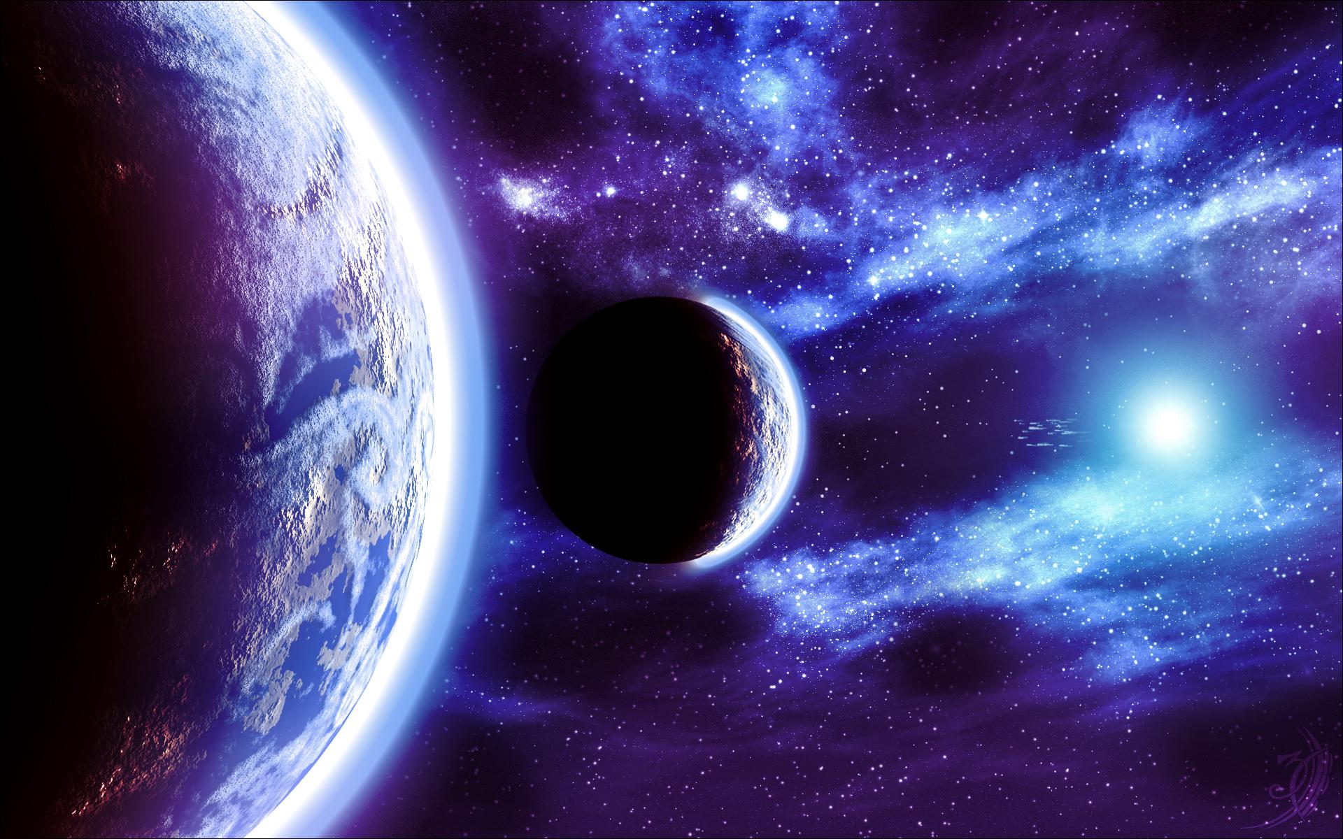 Tapety: Kosmos - Planety