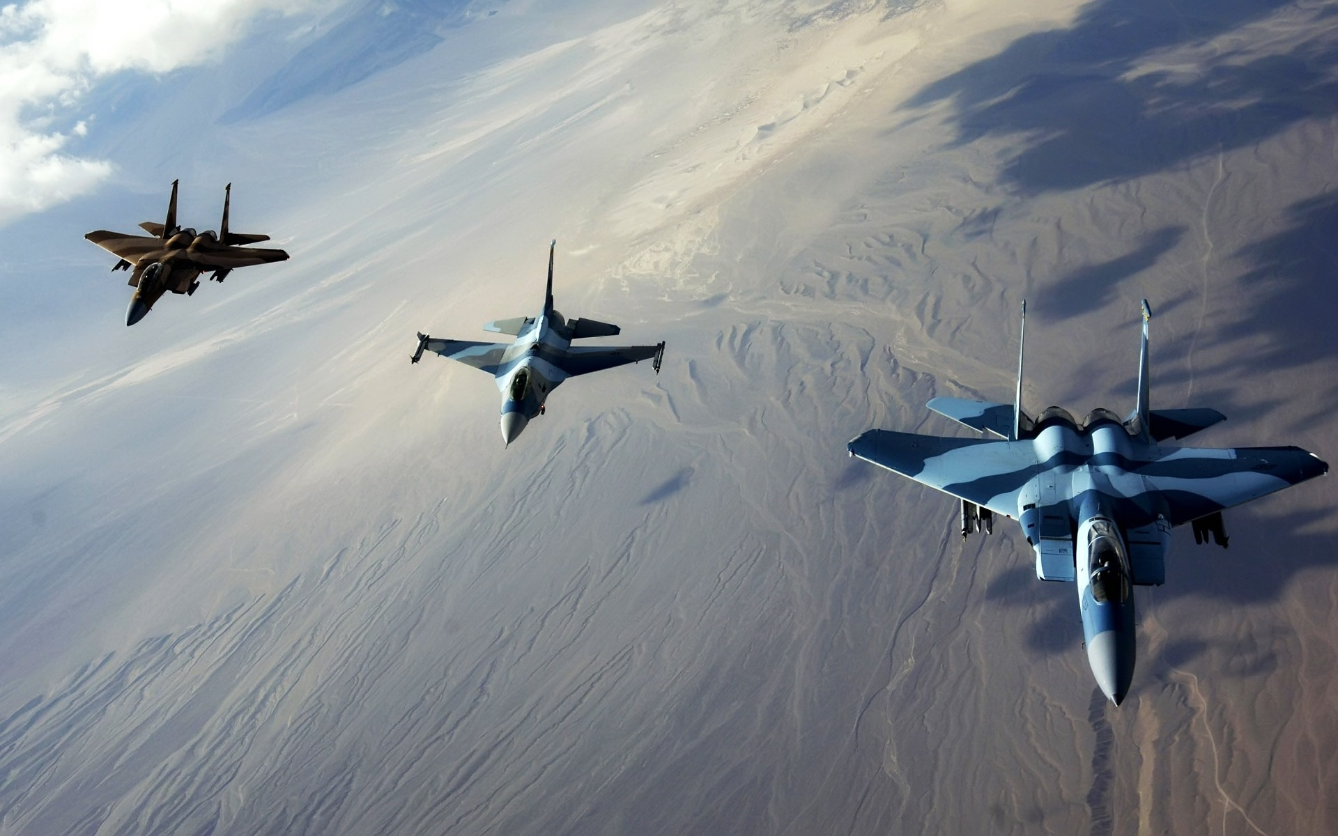 militaria - samoloty - jet_fighters_in_formation-1920x1200