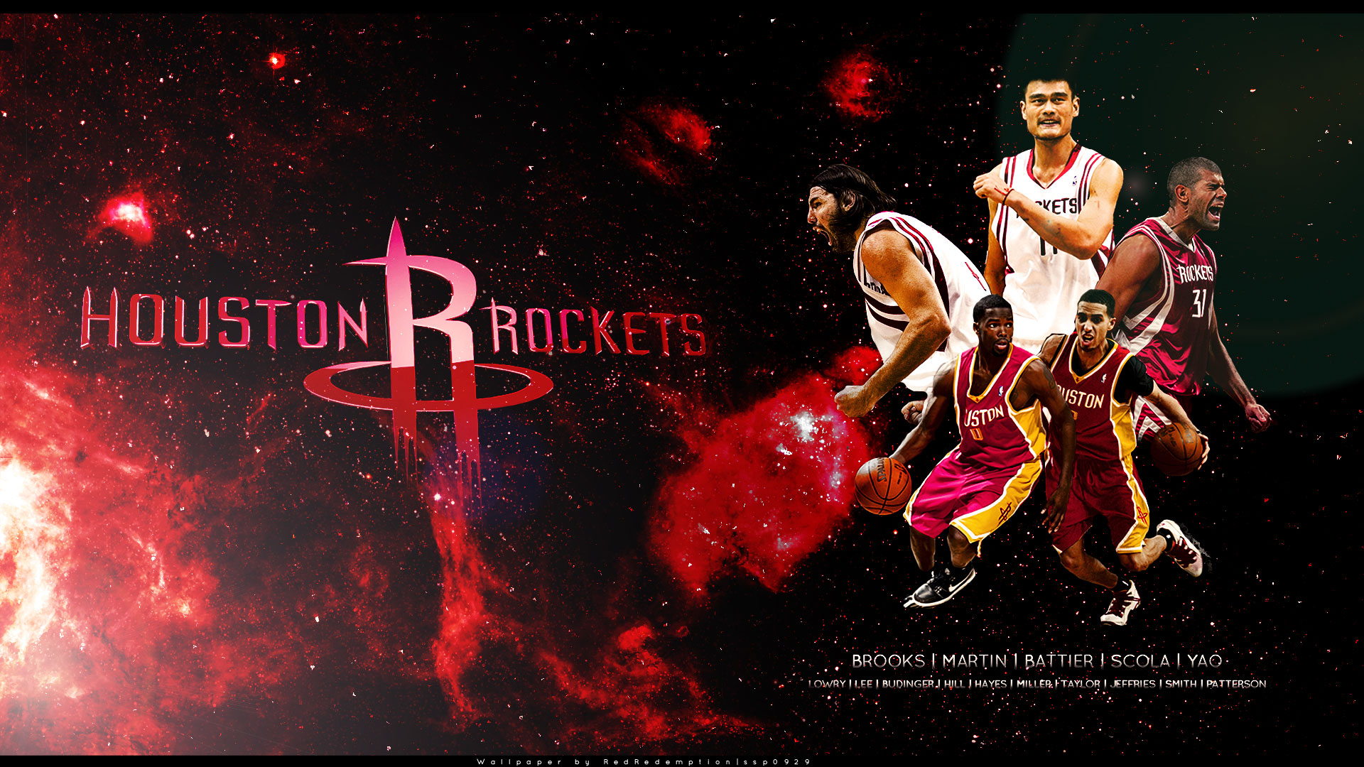 sport - koszykowka - Houston-Rockets-2010-11-Widescreen-Wallpaper